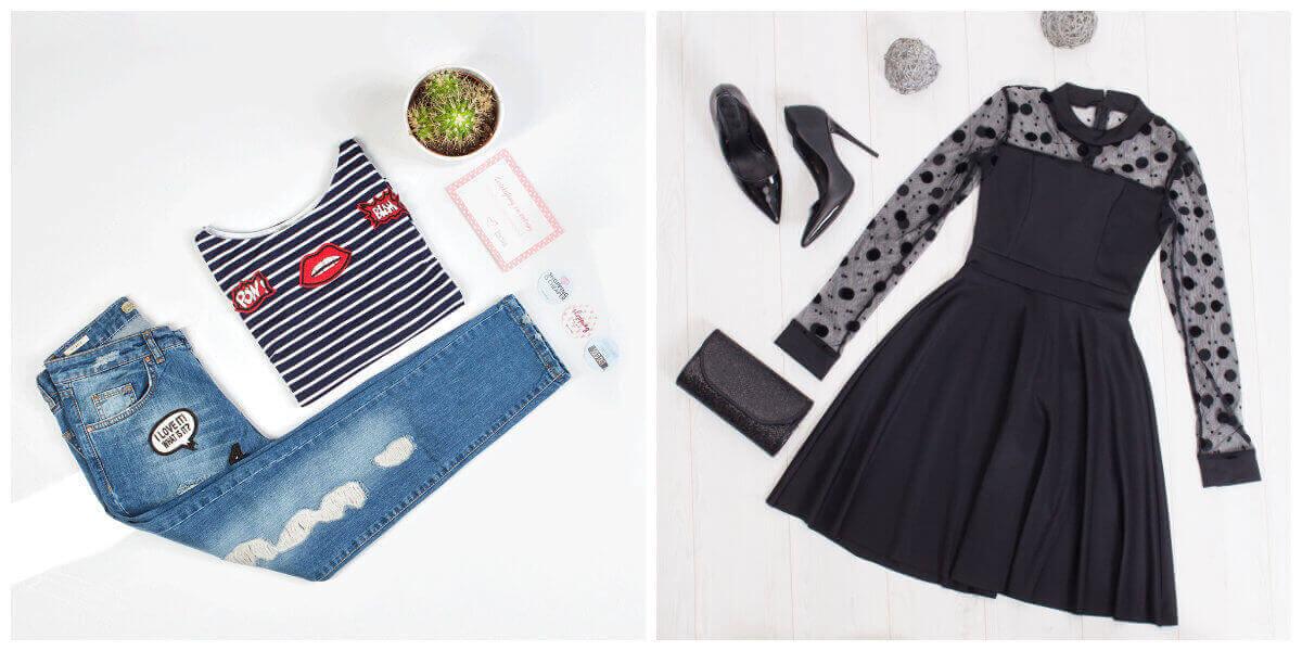 styl francuski ubrania