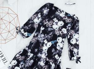 Sukienki w kwiaty modne cały rok