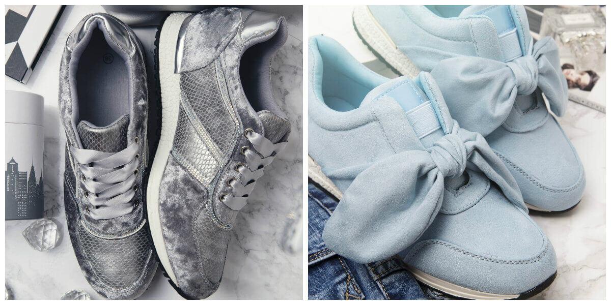 modne sneakersy buty sportowe