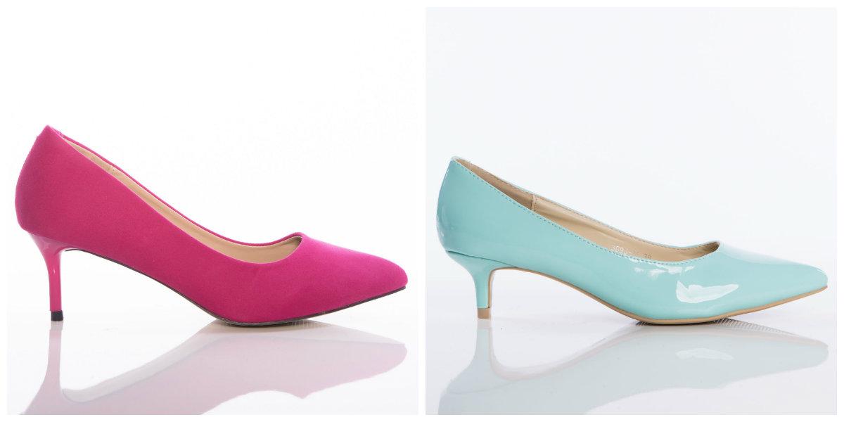 kitten heels szpilki