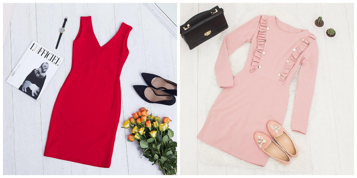 sukienki przylegające