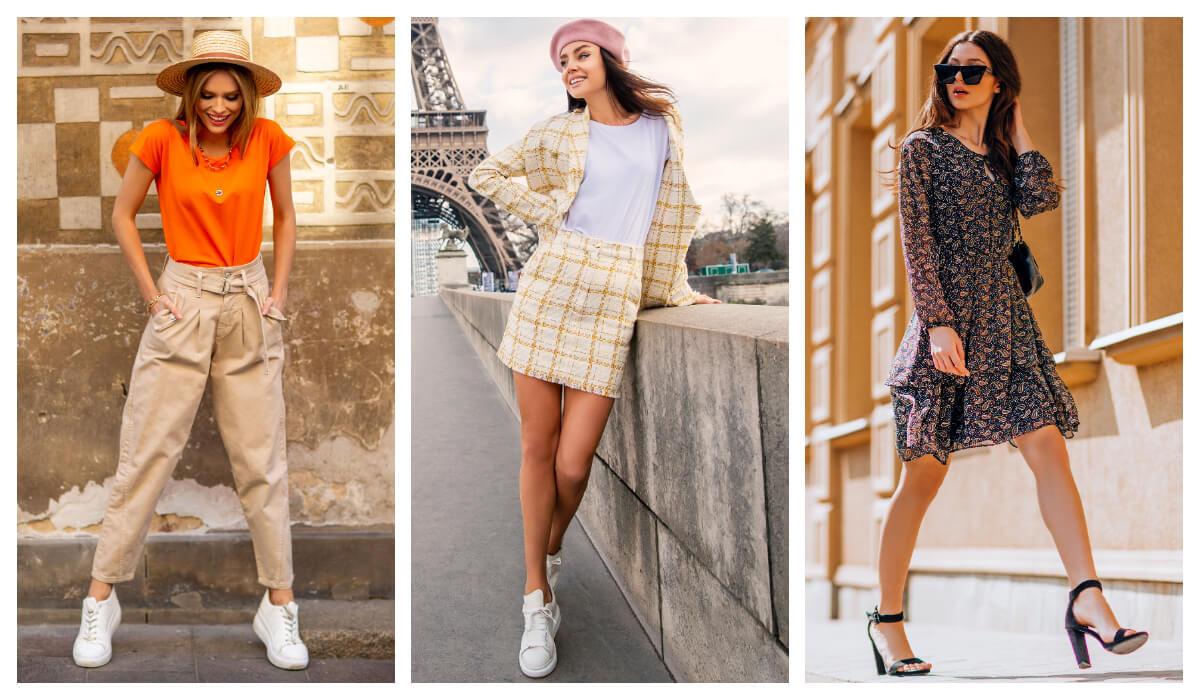 propozycje damskich stylizacji do pracy w stylu casual dress code