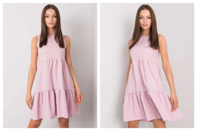 Pastelowe ubrania damskie w letnich stylizacjach